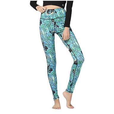 a52908f699 eleganceoo Printed Leggings Basic Patterned Leggings Yoga Workout ...