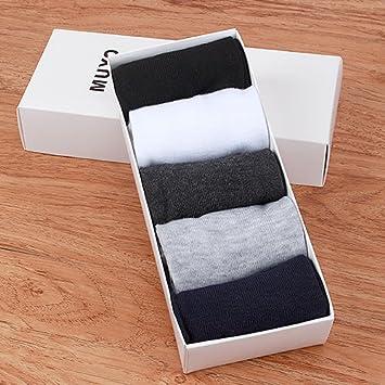 CWAIXX Calcetines Ralph Lauren tubo calcetines en otoño e invierno empresario desodorante grueso de algodón calcetines