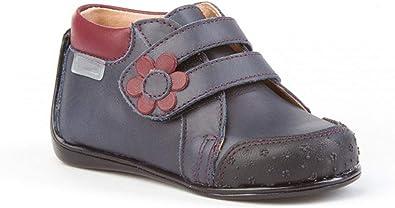 Botines para bebé niña de Piel con Cierre de Velcro. Calzado Infantil Fabricado en España - Mi Pequeña Modelo 611I Color Azul Marino.: Amazon.es: Zapatos y complementos