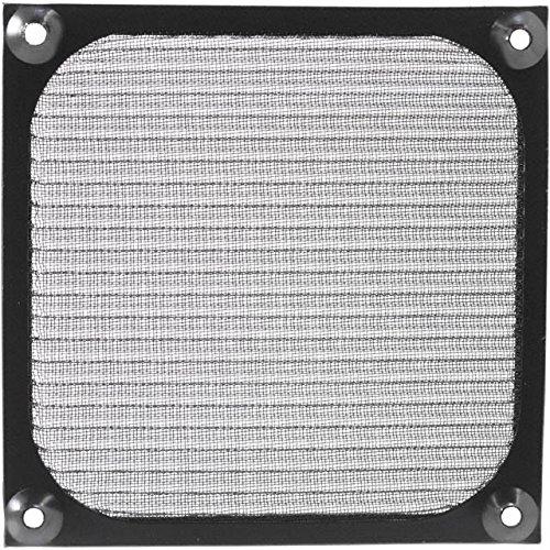 FAN GUARD 120MM WIRE MESH BLACK (100 pieces)