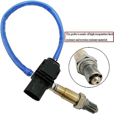 Automotive-leader 8F9A-9Y460-GA 5-Wire LSU 4.9 Upstream Oxygen O2 Sensor for 2009-2011 Ford F-150 2.0L 2010-2016 Ford Focus 2.0L 8F9Z-9F472-B 0258017321