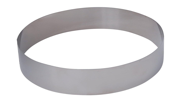 De Buyer 3989.05 Stainless Steel Round Ring, 4.5 cm High, 5 cm Diameter