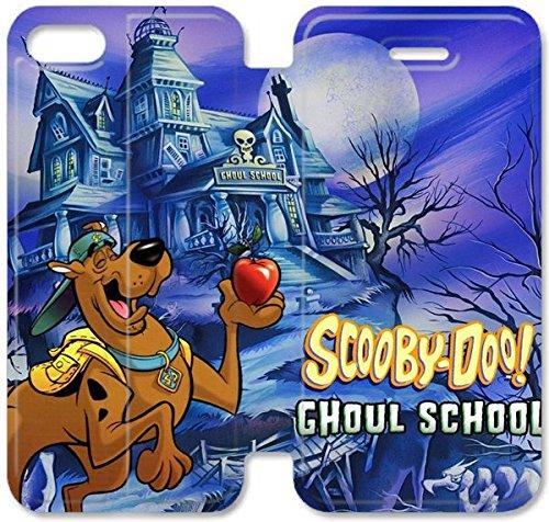 Klreng Walatina® Coque iPhone 6 6s Plus de 5,5 pouces Coque cuir Scooby Doo Pc F7O1Eu