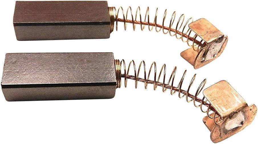 2x Escobillas de carbón motor de carbón, para Singer tipo 20u Máquina de coser