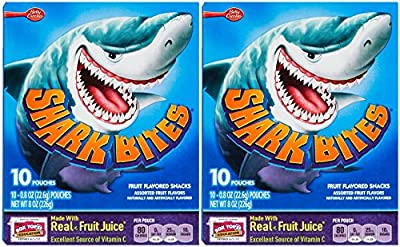 Betty Crocker Shark Bites Fruit Snacks-8 Oz-2 Pack