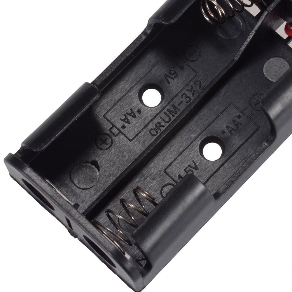 PChero AA Batteriehalter mit Kabel, Schalter und 2: Amazon.de ...