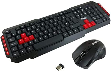 Color : Black Wireless Mouse and Keyboard Set HK8100 Gaming Keyboard and Mouse Wireless Office Set
