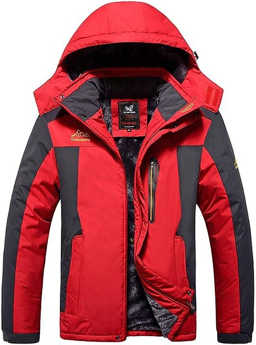 アウトドアジャケット、プラスサイズのメンズフィールド釣り服、防風性と耐寒性プラスベルベット厚い登山ジャケット