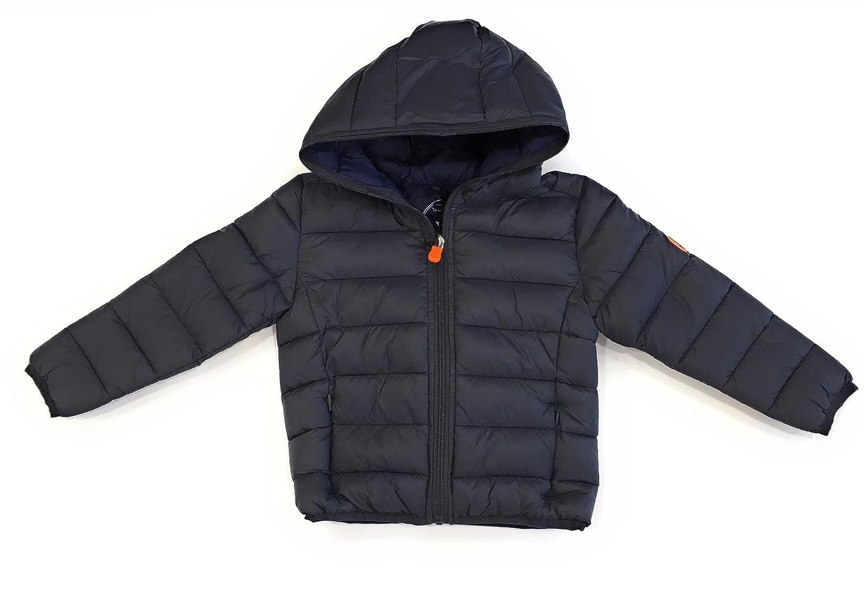 SAVE THE DUCK Bambino J3065BGIGA7 Grey Black Giubbotto Inverno