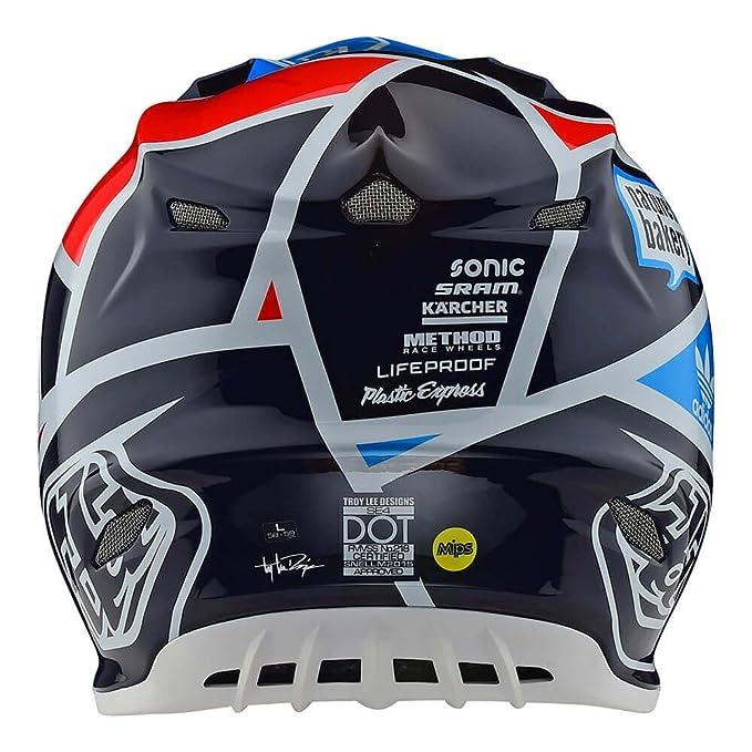 Amazon.com: Troy Lee Designs Motocross Off-Road SE4 Helmet Carbon; Metric (Navy, Large): Automotive