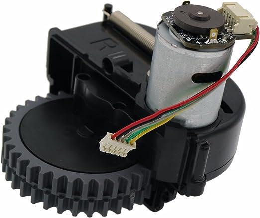monopatín louu accesorios para aspiradoras Recambios para iLife v3s Pro/Wheels Robot Motor aspirador (rueda derecha): Amazon.es: Hogar