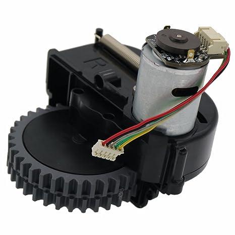 monopatín louu accesorios para aspiradoras Recambios para iLife v3s Pro/Wheels Robot Motor aspirador (