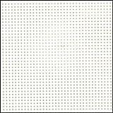 """Darice Perforated Plastic #14 Mesh Plastic Canvas, White - 8.25"""" x 11"""" -  2 Pieces"""
