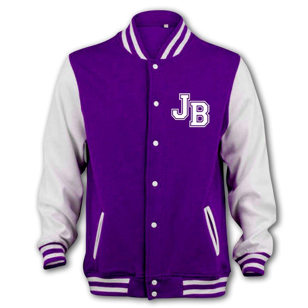 Bang Tidy Clothing Girl's JB Girlfriend Varsity College Jacket 1783