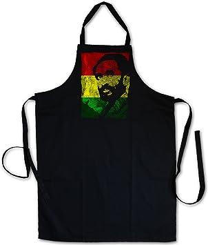 Urban Backwoods Haile Selassie Portrait III Delantal De La ...