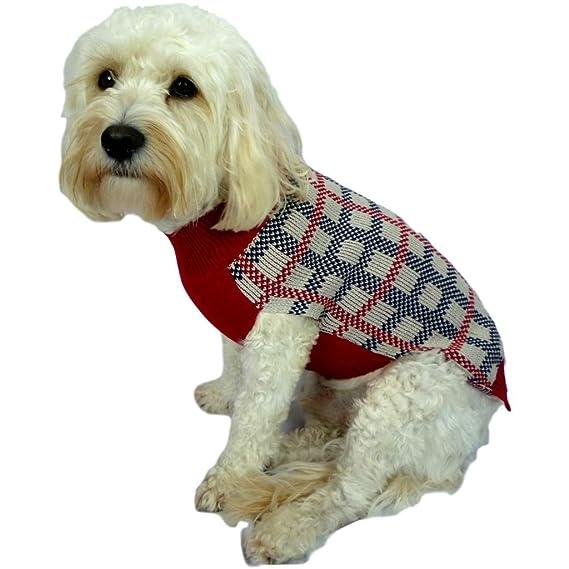 Chaqueta de chándal para perros de tamaño pequeño, color rojo y ...