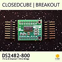 closedcube DS2482–800+ I2C para 8canales 1-Wire puente Breakout
