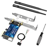 EDUP LOVE PCI-E Wireless WiFi Card with Bluetooth 4.2, AC1300Mbps Dual Band 2.4G/5.8G PCIe Wireless PCI Express Adapter…