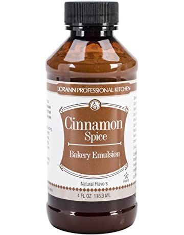 Lorann Oils Bakery Emulsions Natural & Artificial Flavor 4oz-Cinnamon Spice