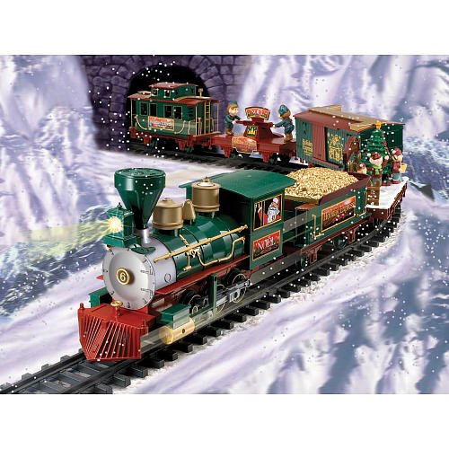 ... Pole Express Christmas Train ... - Under The Christmas Tree Train Sets WebNuggetz.com