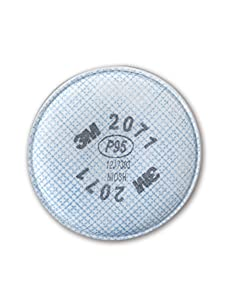3M 50051138543568 Particulate Filter 2071, P95 (Pack of 2)