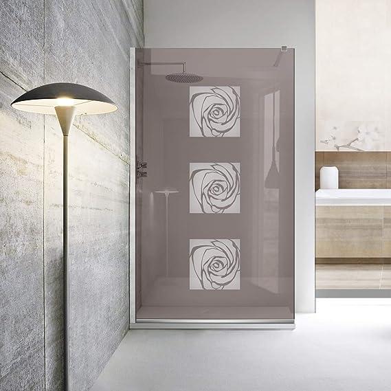Mampara de ducha Leroy Timeless – Cristal de seguridad templado de 8 mm, nanorevestido, accesorios de acero inoxidable SS304, de Modern Glass Art, blanco: Amazon.es: Bricolaje y herramientas