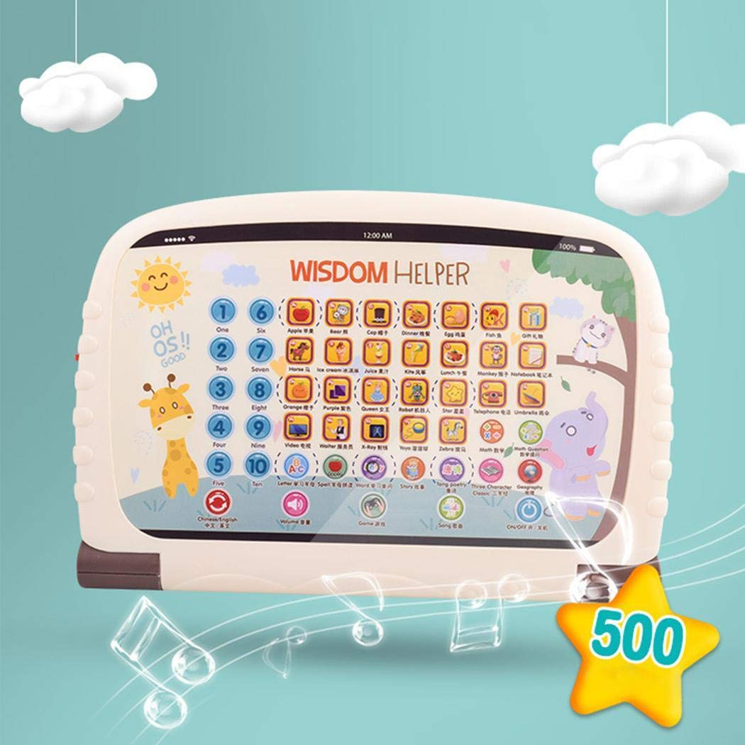 Asatr Children's Early Education Toy Learning Chinese English Reading Tablet Toy Electronic Systems by Asatr (Image #7)