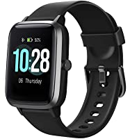 Letsfit Smart Watch, Fitness Tracker with Heart Rate Monitor, Activity Tracker with 1.3