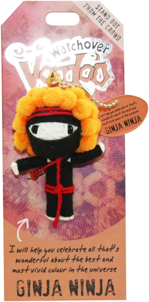 Watchover Voodoo Ginja Ninja Good Luck Doll