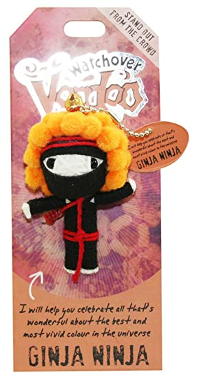 Watchover Voodoo Ginja Ninja Good Luck Doll: Amazon.es ...