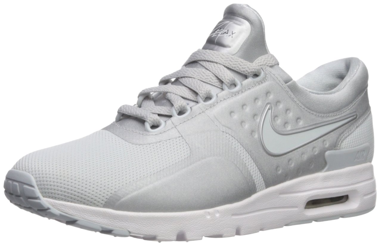 NIKE Women's Air Max Zero Running Shoe B07488CFC1 9 B(M) US|Pure Platinum/Pure Platinum