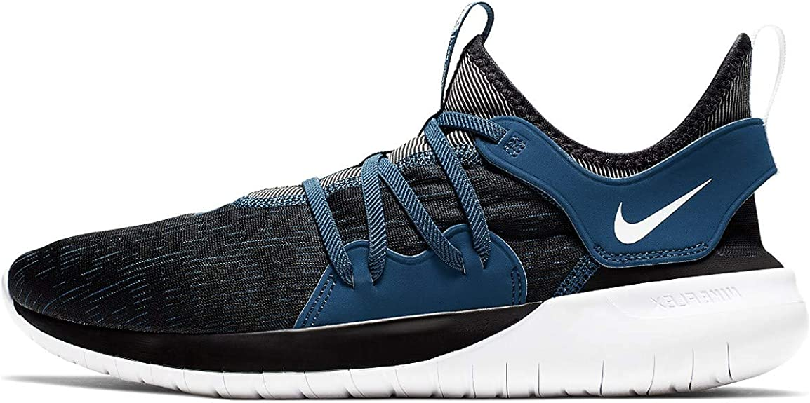 Nike Flex Contact 3, Zapatillas de Trail Running para Hombre, Multicolor (Black/White/Blue Force 7), 49.5 EU: Amazon.es: Zapatos y complementos
