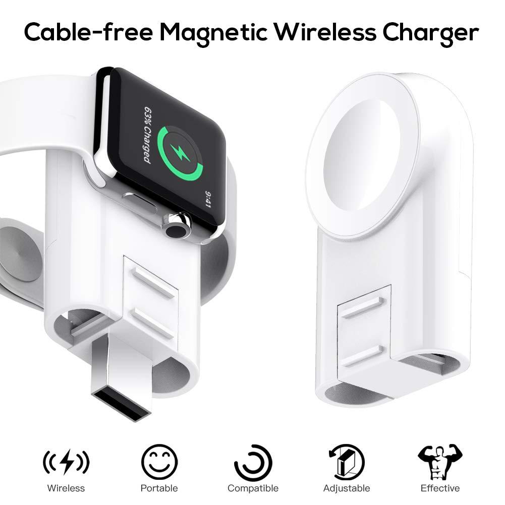 Cargador inalámbrico portátil magnético para Apple Watch xam