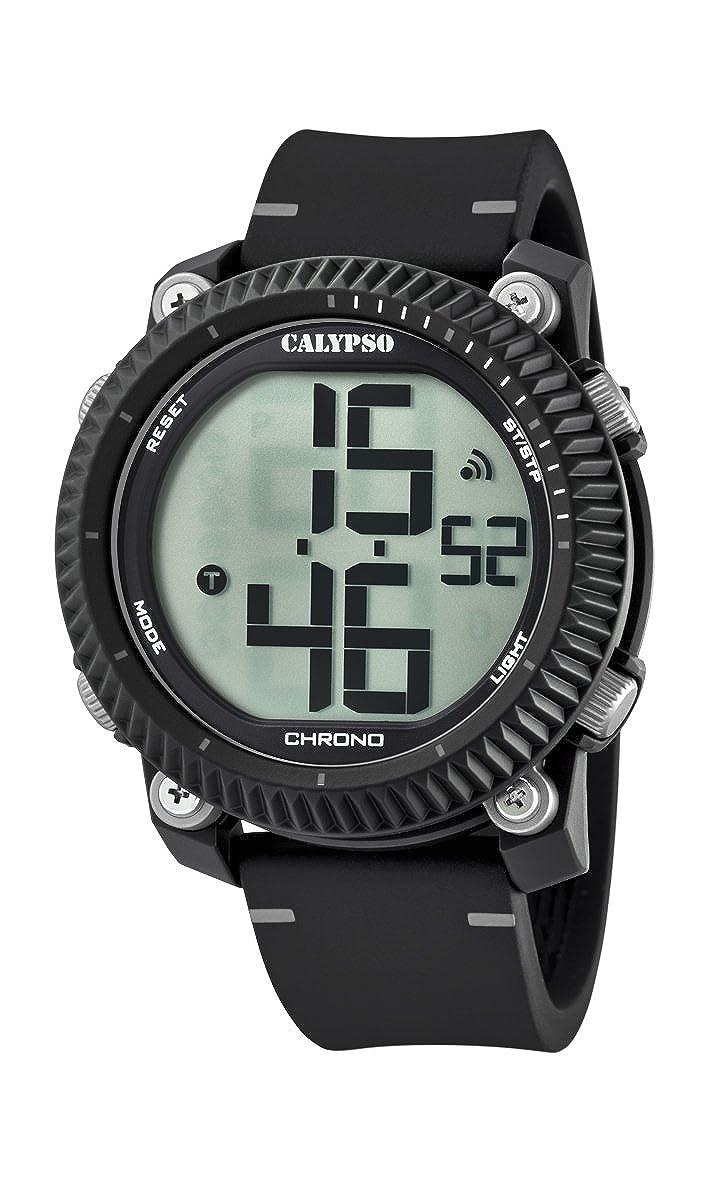 Calypso Reloj Digital para Hombre de Cuarzo con Correa en Plástico K5731/1