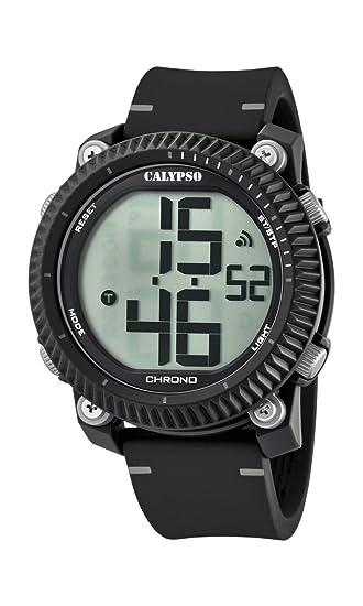 Calypso Reloj Digital para Hombre de Cuarzo con Correa en Plástico K5731/1: Calypso: Amazon.es: Relojes