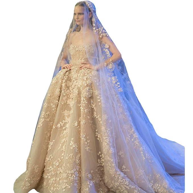 dressvip - Vestido de novia Beige Beige - Champagne
