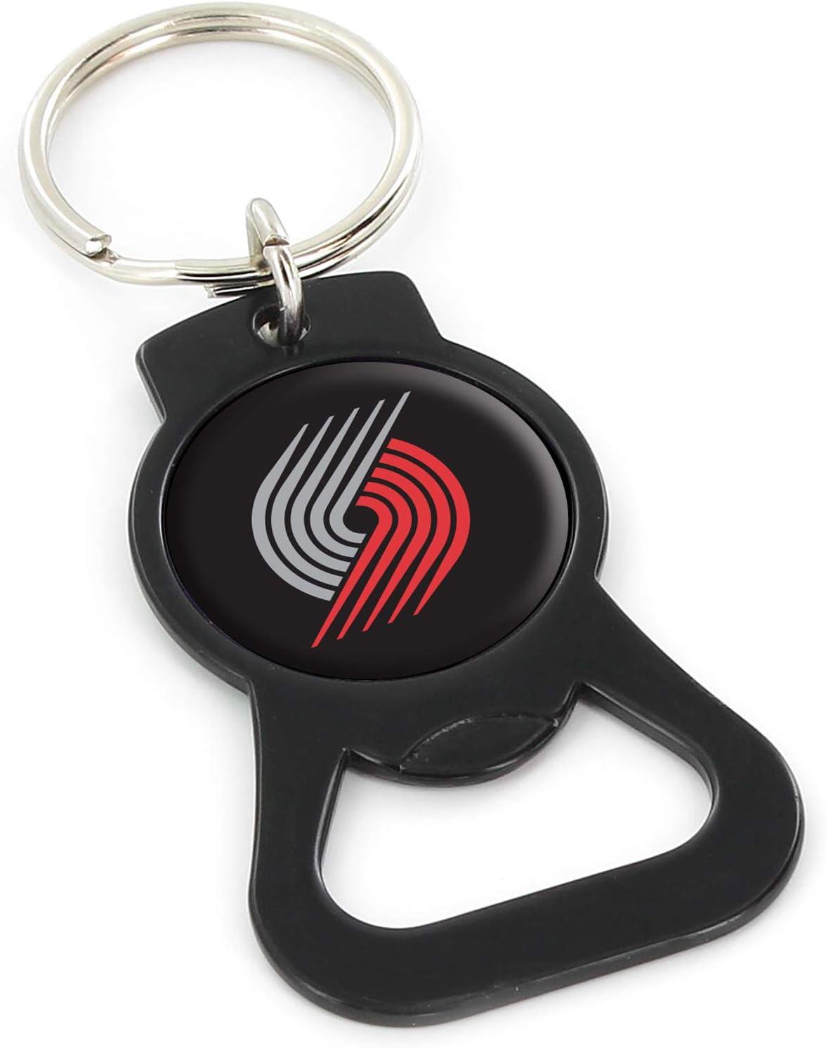 aminco NBA Mens Bottle Opener Keychain