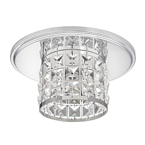 Decorative crystal ceiling trim for recessed lighting amazon decorative crystal ceiling trim for recessed lighting aloadofball Gallery
