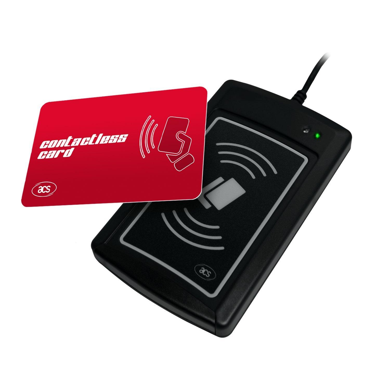 Luxtech ACR1281U-C2 Scheda UID Lettore di card contactless con numero di Unique Identifier (UID) di qualsiasi ISO 14443 parti 1-4 di tipo A e una carta contactless B-compliant