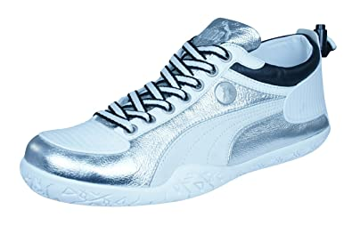 4bf077918f8 PUMA Mihara Yasuhiro My 44 Metallic Mens Leather Sneakers Shoes-Silver-7