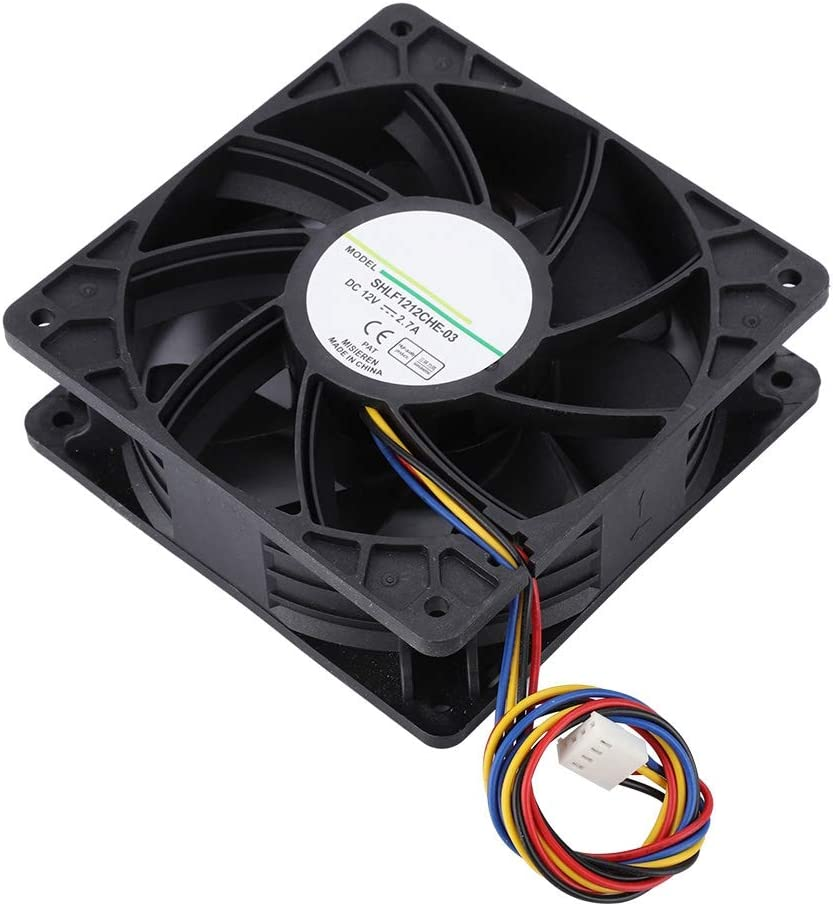 Fast Heat Dissipation Cooling Fan Cooler Replacement Quiet Internal Cooling Fan Strong Heat Dissipation Easy to Install Wendry Cooling Fan