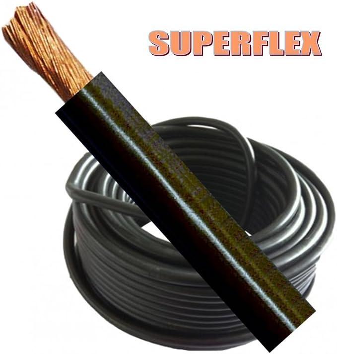 Schweißen Kabel Batterie Erde 230 Amp 25 Mm Schwarz Flexibel Pro Meter Mig Tig Lichtbogenschweißgerät Auto