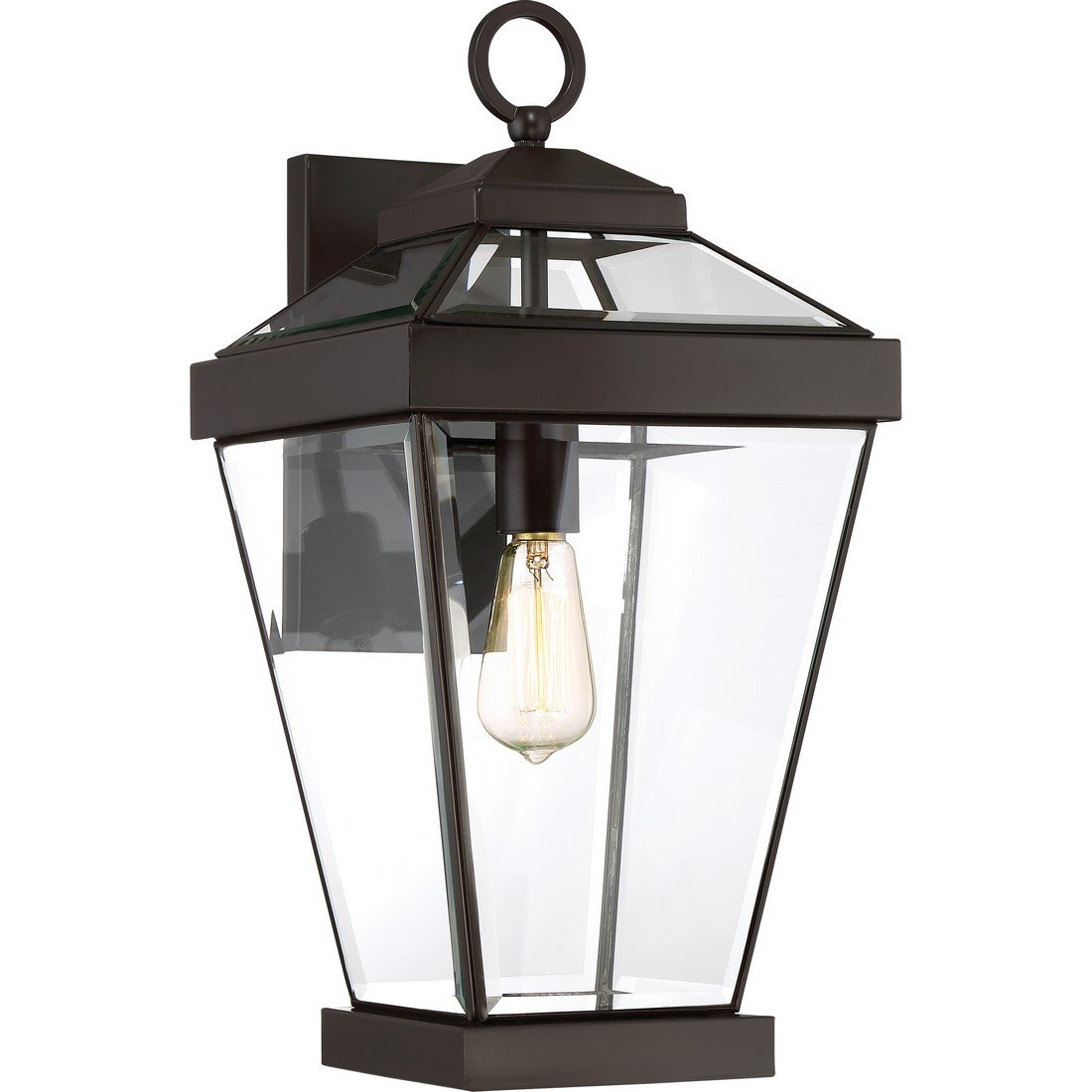 Quoizel One Light Outdoor Wall Lantern RAV8410WT, Large, Western Bronze by Quoizel