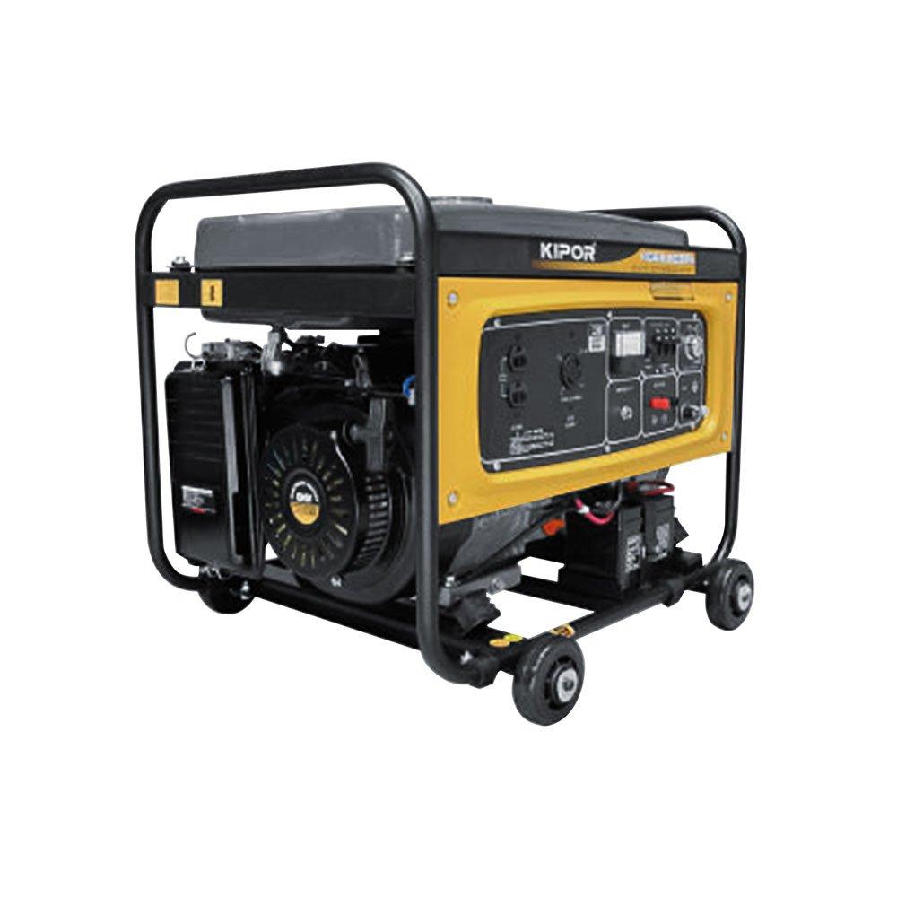 KIPOR ガソリン発電機 (60Hz/単相100V/三相200V/5.5kVA/低騒音型) KGE5.5E3Ph B00XXEU37A