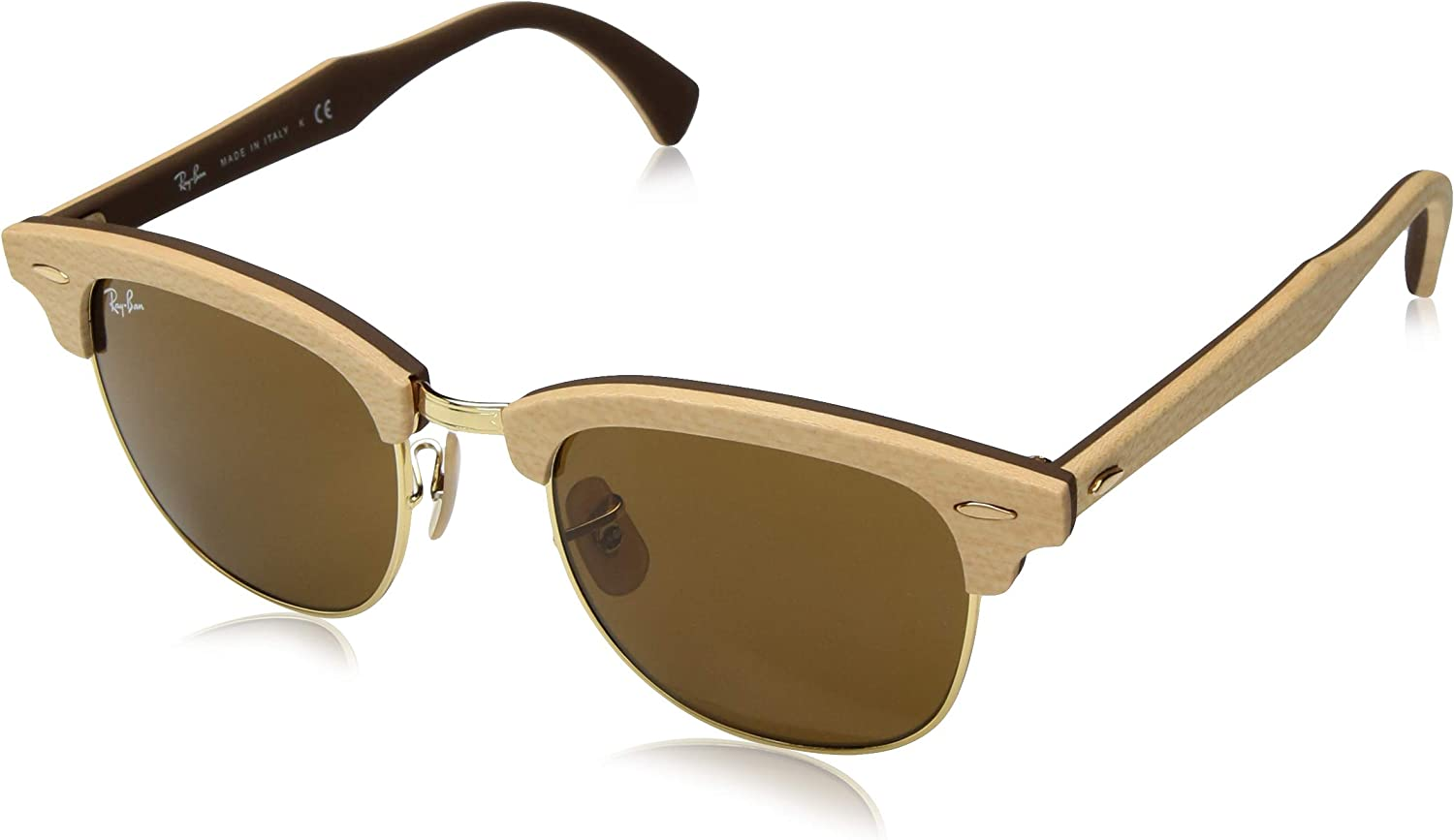 Ray-Ban Sonnenbrille CLUBMASTER (M) (RB 3016M)