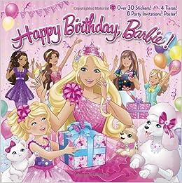 Happy Birthday, Barbie! (Barbie) (Pictureback(R)): Mary ...