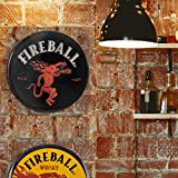 Officially Licensed Fireball Whiskey Dome Shaped