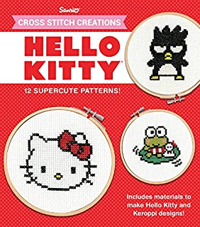 Image result for hello kitty cross stitch