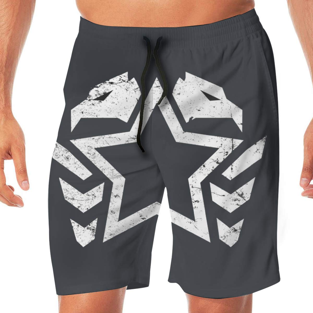 Double Eagle Mens Beach Board Shorts Swim Trunks Beach Shorts