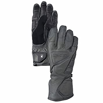 Spyder Men s Rage Ski Gloves - Grey dd83ef8e2